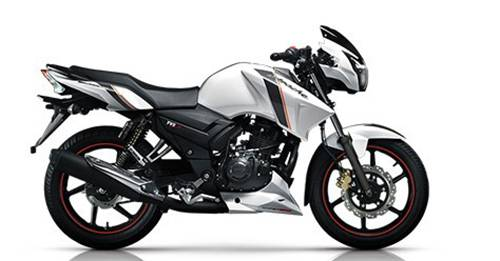 TVS Bikes priced between 1 to 2 lakhs in India