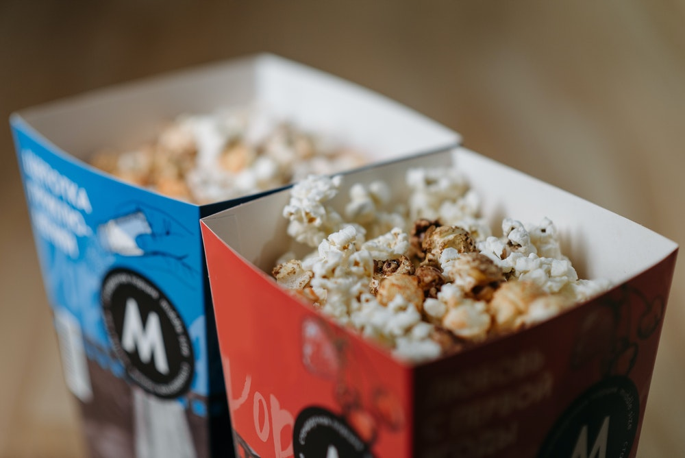 Popcorn Boxes an Attractive Snack Bucket to Brand Your Product